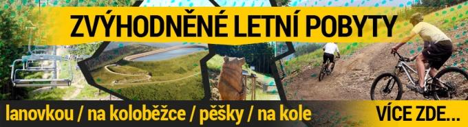 Penzion Kouty letní balíčky